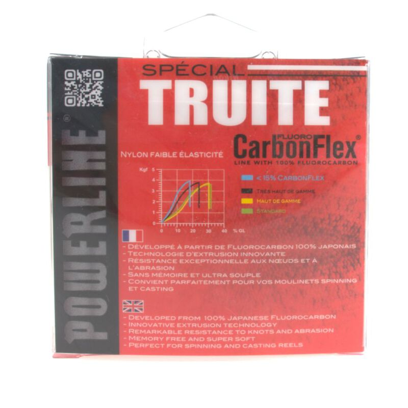 Fluorocarbone carbonflex truite powerline 150x - Fluorocarbones   Pacific Pêche