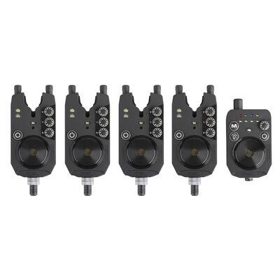Coffret 4 détecteurs prologic r2l bite alarm + centrale - Coffrets détecteurs | Pacific Pêche
