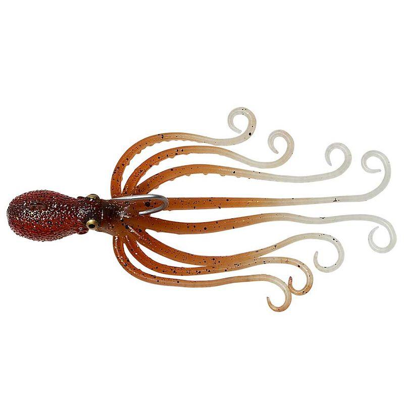 Leurre savage salt 3d octopus 35g 10cm - Leurres souples | Pacific Pêche