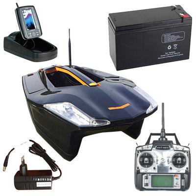 Pack bateau amorceur toslon x boat x730 + 2 batt + chargeur + sond. tf500 - Packs | Pacific Pêche