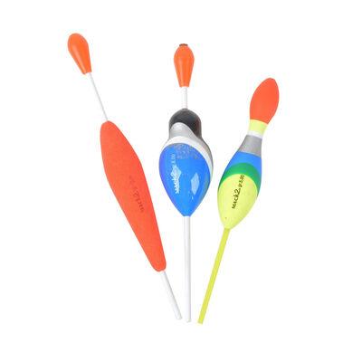 Pack de 3 flotteurs carnassier x-line (5g 8g 10g) - Flotteurs | Pacific Pêche