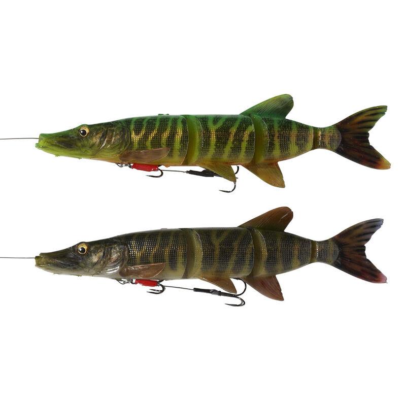 Leurre souple swimbait carnassier savage gear 4d line thru pike ss 25cm 110g - Leurres swimbaits | Pacific Pêche