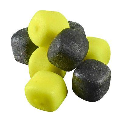 Imitation d'appât rok zig cube mix popup jaune-noire - ZIG | Pacific Pêche