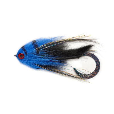 Mouche à brochet silverstone broc wiggle blue 6/0 - Streamers | Pacific Pêche
