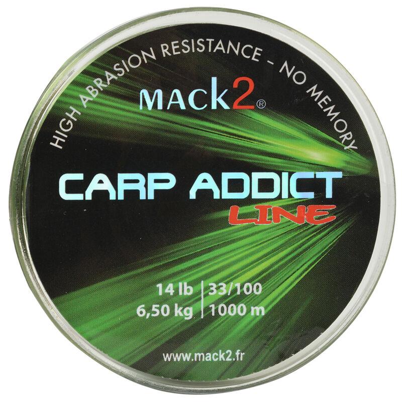 Nylon carpe mack2 carp addict line 1000 m - Monofilament | Pacific Pêche