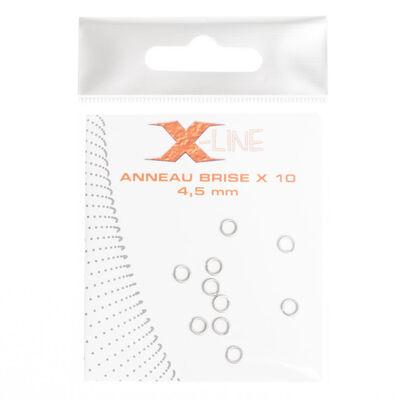 Anneaux brisés carnassier x-line (x10) - Anneaux brisés | Pacific Pêche