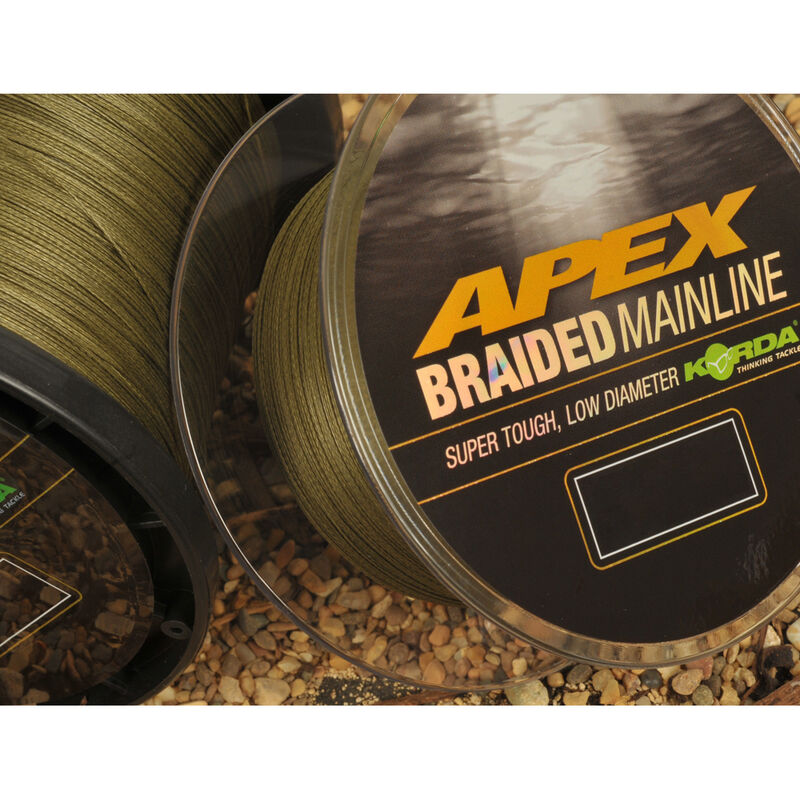 Tresse carpe korda apex braided mainline 1200m - Tresse | Pacific Pêche