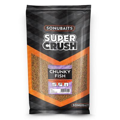 Amorce sonubait super crush chunky fish sac de 2 kg - Amorces | Pacific Pêche
