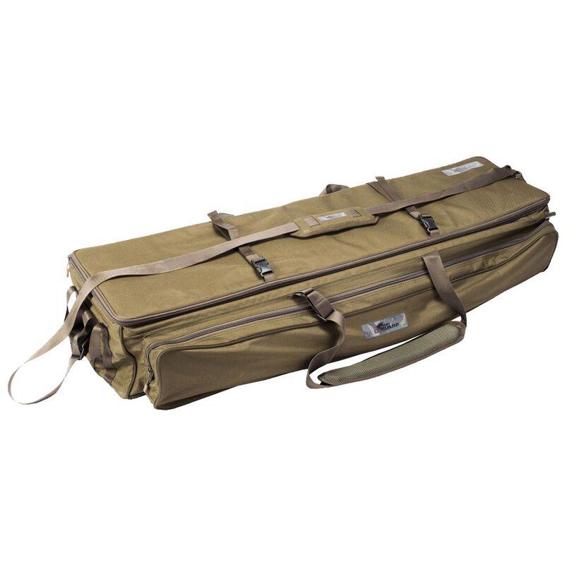 Pack 3 cannes dwarf es 10' 3lbs + un fourreau carry system 10' 3 cannes + un tapis de réception dwarf sling mat large - Packs   Pacific Pêche