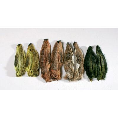 Fly tying poils jmc paire oreilles de lièvre naturel - Poils | Pacific Pêche