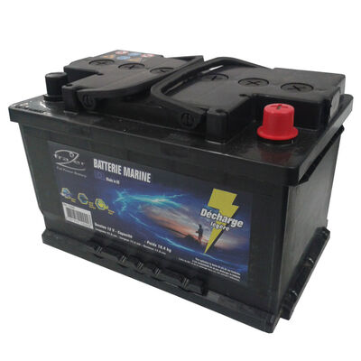Batterie frazer marine 62ah decharge legere - Batteries | Pacific Pêche
