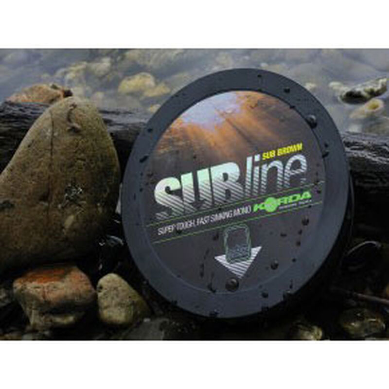 Nylon carpe korda subline 1000m brown - Monofilament | Pacific Pêche