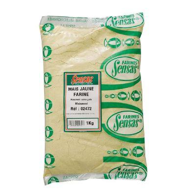 Farine sensas mais jaune 1kg - Farines | Pacific Pêche