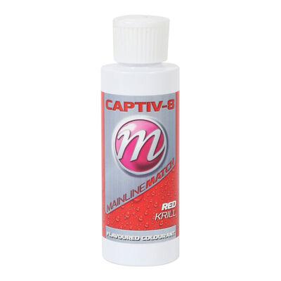 Colorant à pellet mainline match captiv-8 additive red krill 250ml - Additifs   Pacific Pêche