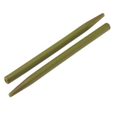 Manchon zig sleeve rok green - pochette de 15 - Clip plombs et cônes | Pacific Pêche