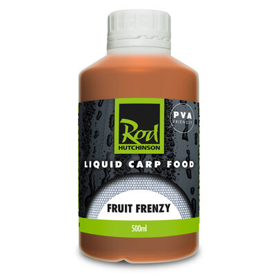 Booster carpe rod hutchinson fruit frenzy liquid carp food 500ml - Boosters / dips | Pacific Pêche