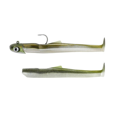Leurre fiiish combo mud digger 6.5cm 2gr (1tp +2 corps) - Leurres shads | Pacific Pêche