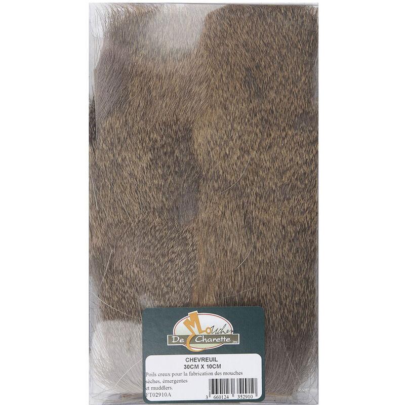 Fly tying jmc poils sur peau chevreuil pack 30 cm - Poils   Pacific Pêche