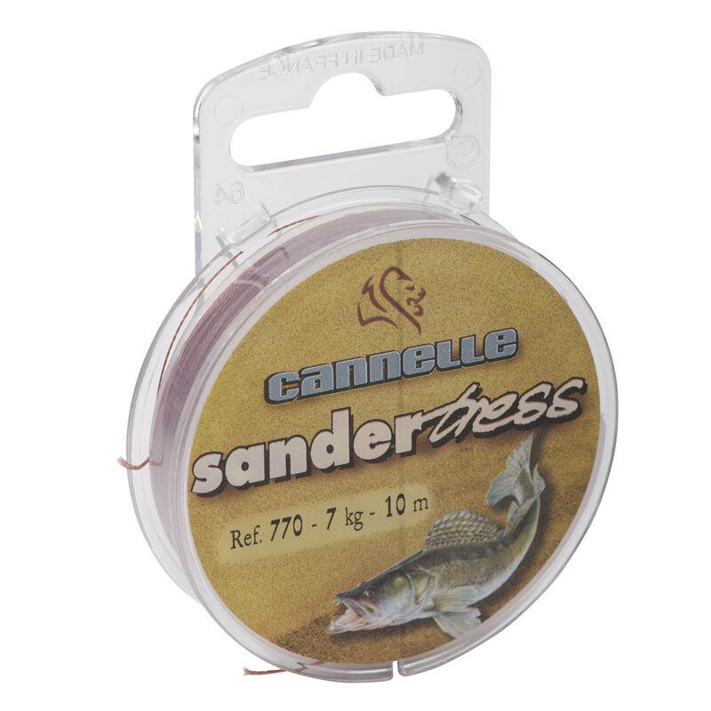 Tresse à bas de ligne carnassier cannelle sandertress c770 10m - Bas de ligne tresse | Pacific Pêche