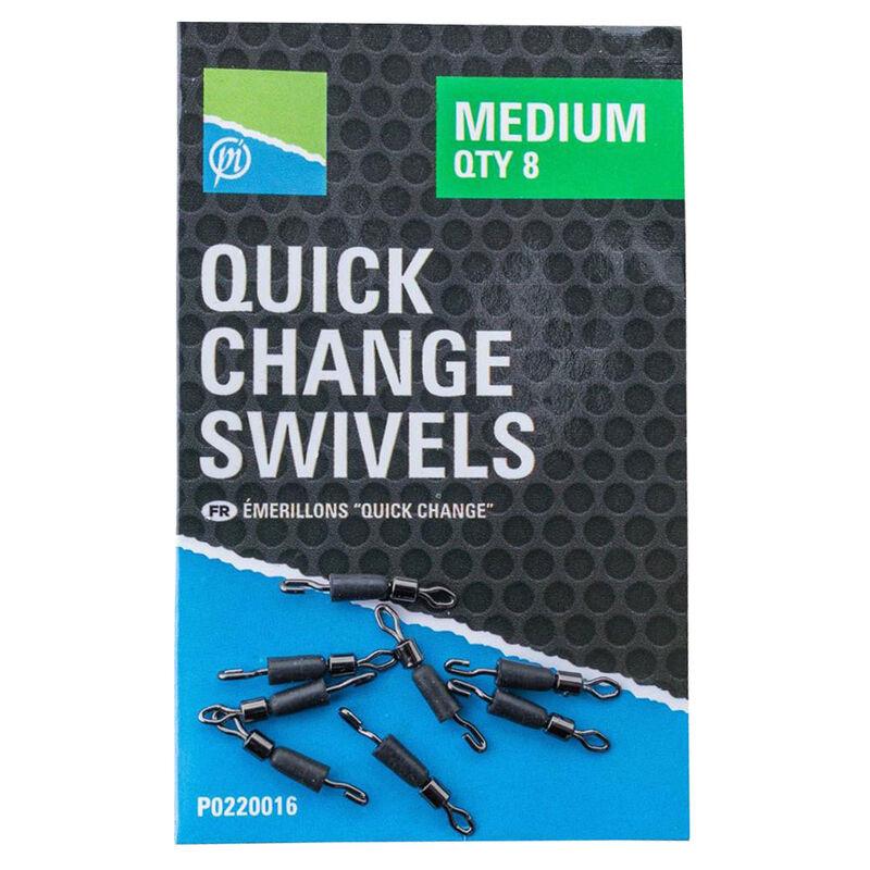 Emerillon attache rapide coup preston quick change swivels (x8) - Emerillons / Agrafes / Perles   Pacific Pêche