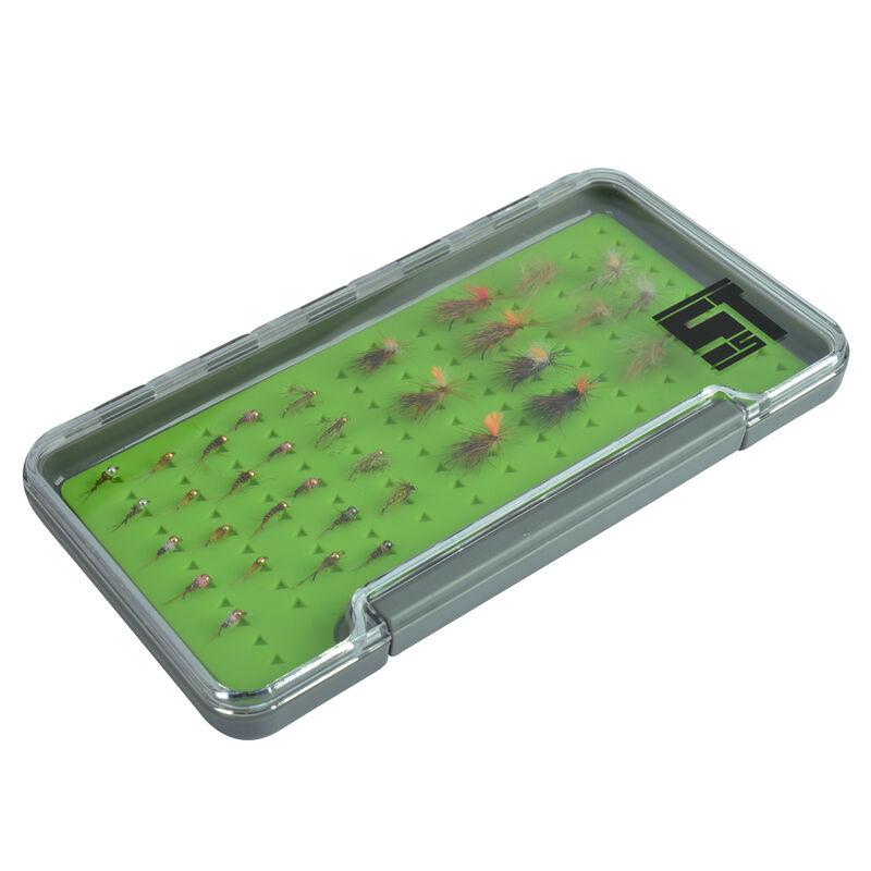 Boîte à mouche silverstone waterpro rubber slim/large (capacité 121 mouches) - Boîtes Mouches   Pacific Pêche