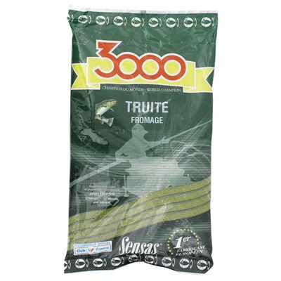 Amorce sensas 3000 truite fromage 800g - Amorces   Pacific Pêche