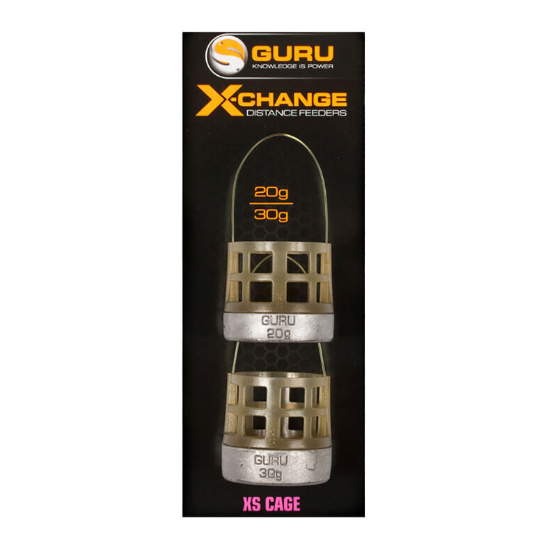 Cages feeder guru x-change distance extra small (2 cages) - Cages Feeder | Pacific Pêche