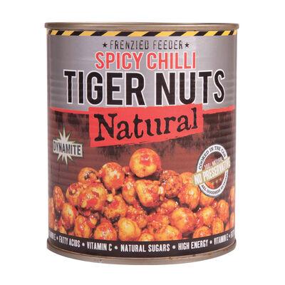 Graines cuites carpe dynamite baits frenzied chilli tiger nuts jar 800g - Prêtes à l'emploi | Pacific Pêche