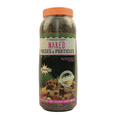 Graines cuites carpe dynamite baits frenzied pulse naked parti mix 2.5l - Prêtes à l'emploi | Pacific Pêche