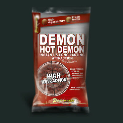 Bouillettes carpe performance concept hot demon 24mm 1kg - Denses | Pacific Pêche