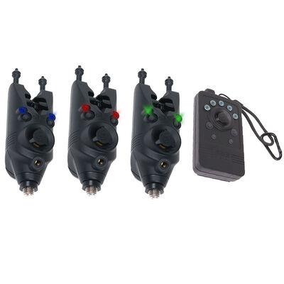 Pack 3 détecteurs carpe siren r3 nash - Packs | Pacific Pêche