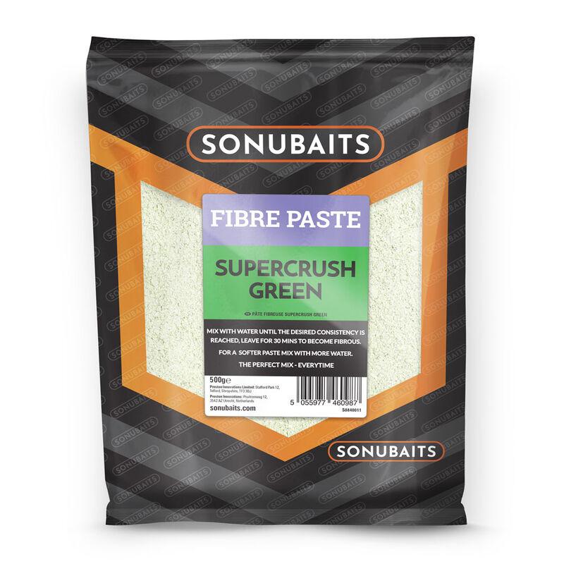 Pâte d'eschage coup sonubaits fibre paste supercrush green 500g - Eschage   Pacific Pêche