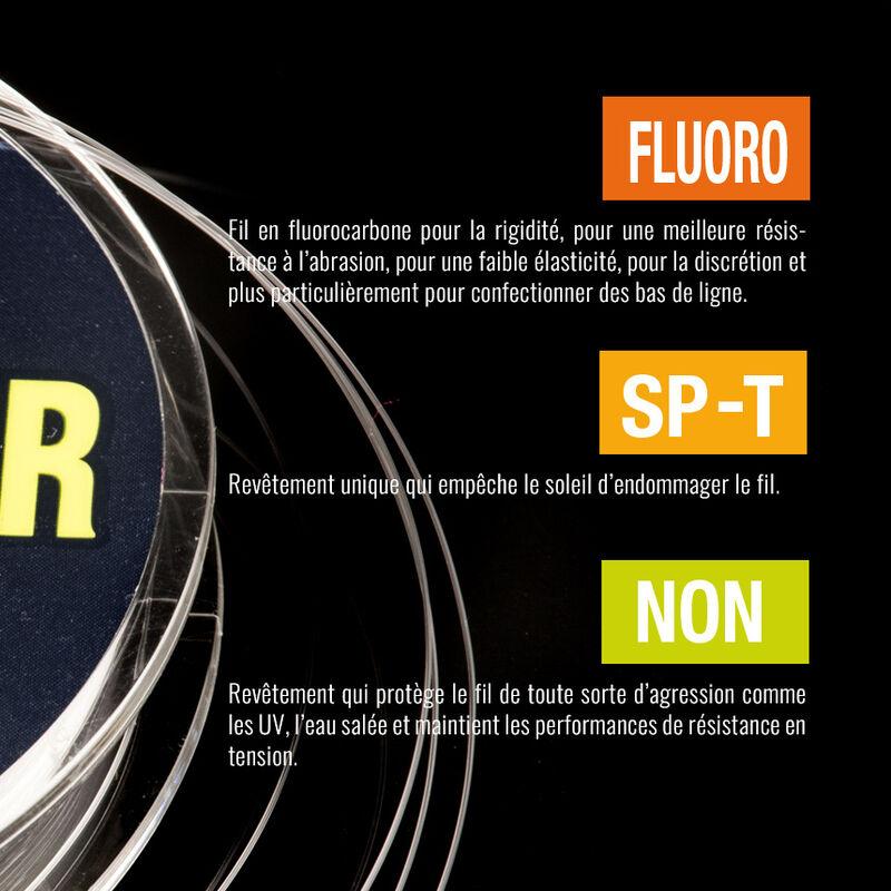 Fil fluorocarbone varivas seabass shock leader 30m - Fluorocarbone Bdl   Pacific Pêche