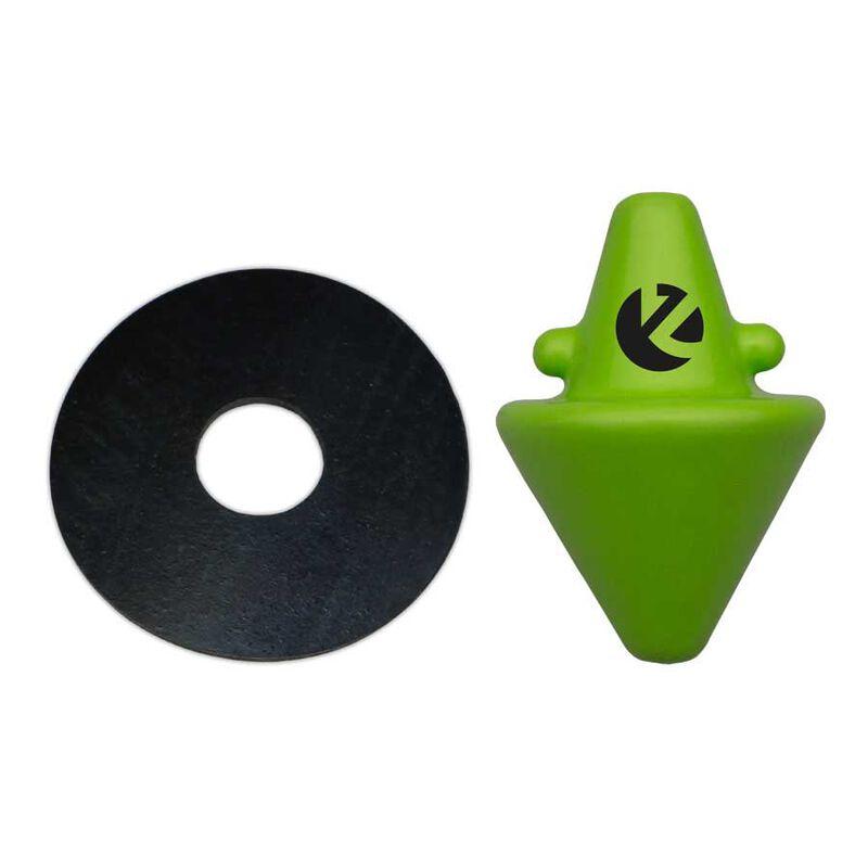 Plomb zeck disk teaser green - Plombs | Pacific Pêche