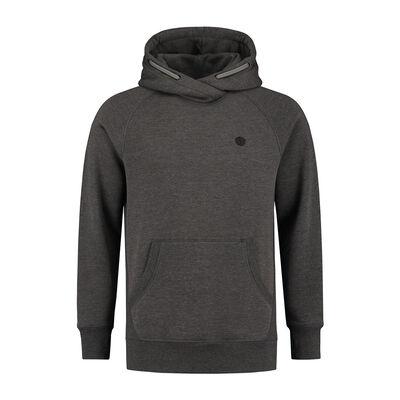 Sweat à capuche léger korda le tk hoodie charcoal - Sweats | Pacific Pêche