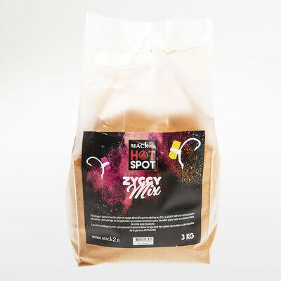 Amorce zig rig carpe mack2 ziggy mix 3 kg - Methods Mix | Pacific Pêche