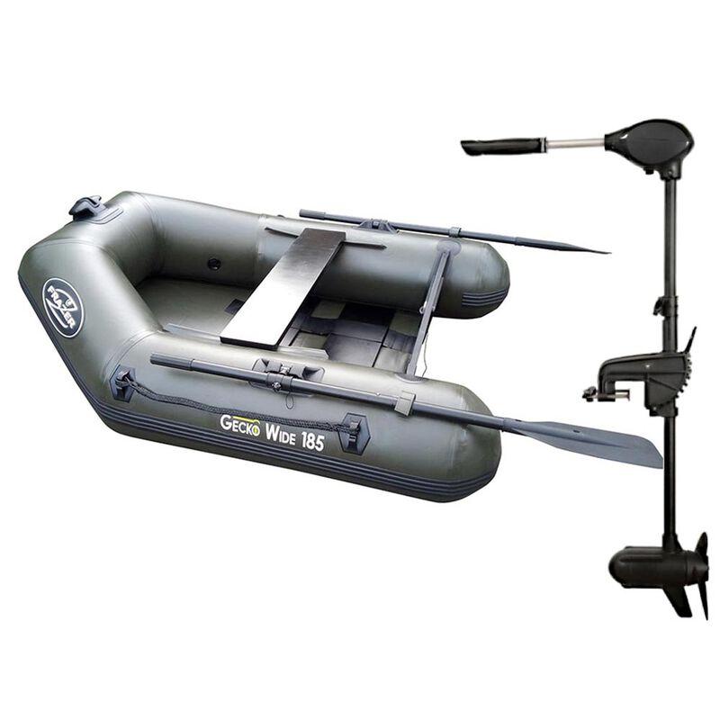 Pack bateau frazer geko wide 185 + moteur 65 lbs - Pneumatiques   Pacific Pêche