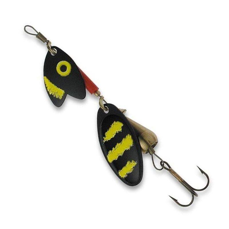 Cuillère tournante truite mepps tandem truite noir/jaune (x1) - Leurre cuillères   Pacific Pêche