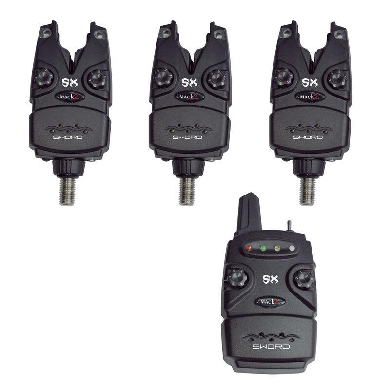 Coffret 3 détecteurs carpe mack2 sword sx alarm set + centrale - Coffrets détecteurs   Pacific Pêche