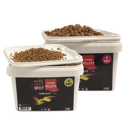 Seau pellets mack2 power pellets tiger nuts 2kg - Amorçages | Pacific Pêche