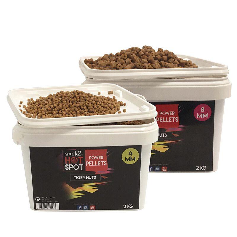 Seau pellets mack2 power pellets tiger nuts 2kg - Amorçages   Pacific Pêche