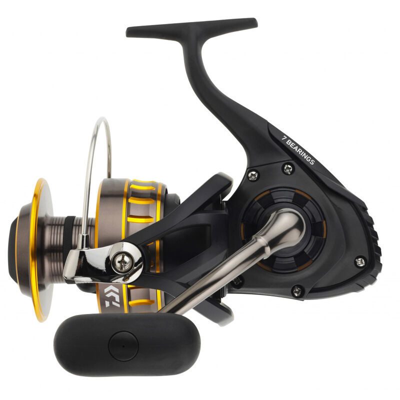 Moulinet daiwa black gold 4500 - Tambour Fixe | Pacific Pêche
