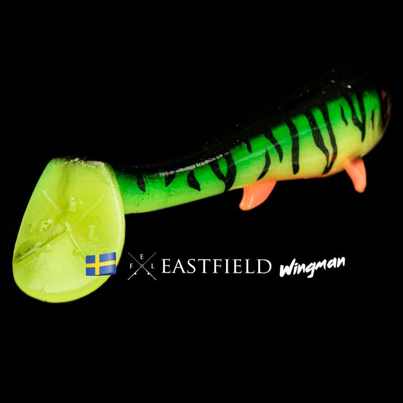 Leurre souple shad carnassier eastfield wingman 21cm 80g - Shads | Pacific Pêche