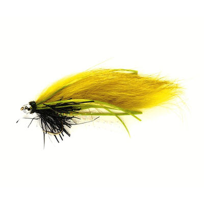 Streamer silverstone zonker creeper olive h8 (x3) - Streamers | Pacific Pêche