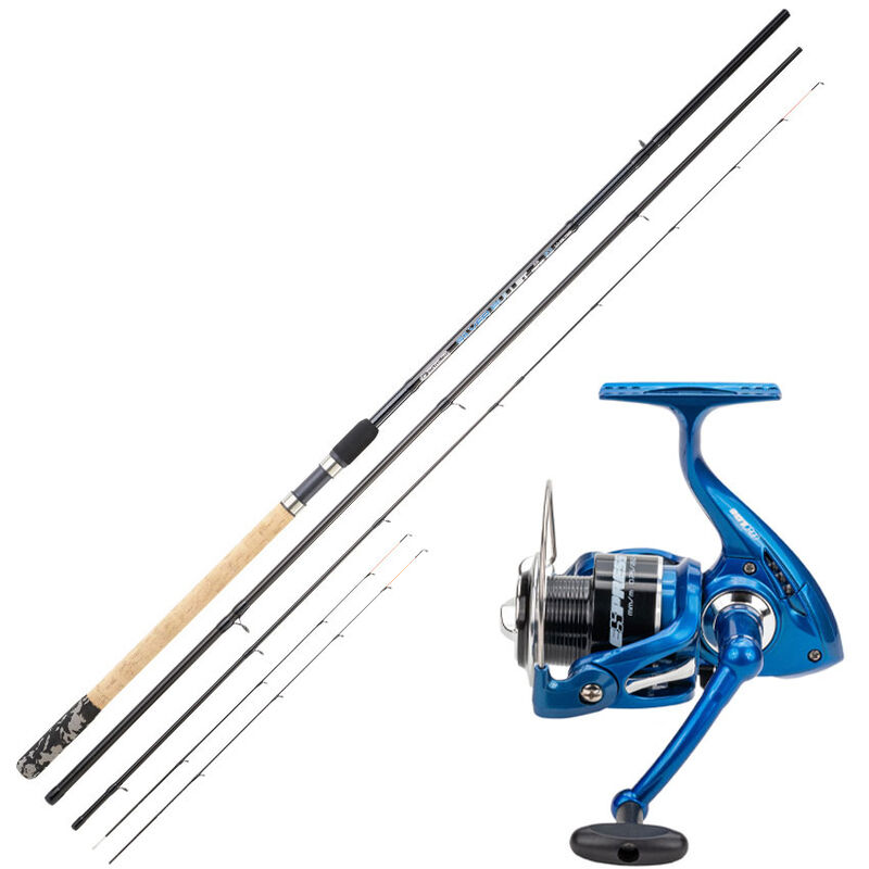Ensemble feeder canne bullet slim 3.30m + moulinet express 301 - Ensembles feeder   Pacific Pêche