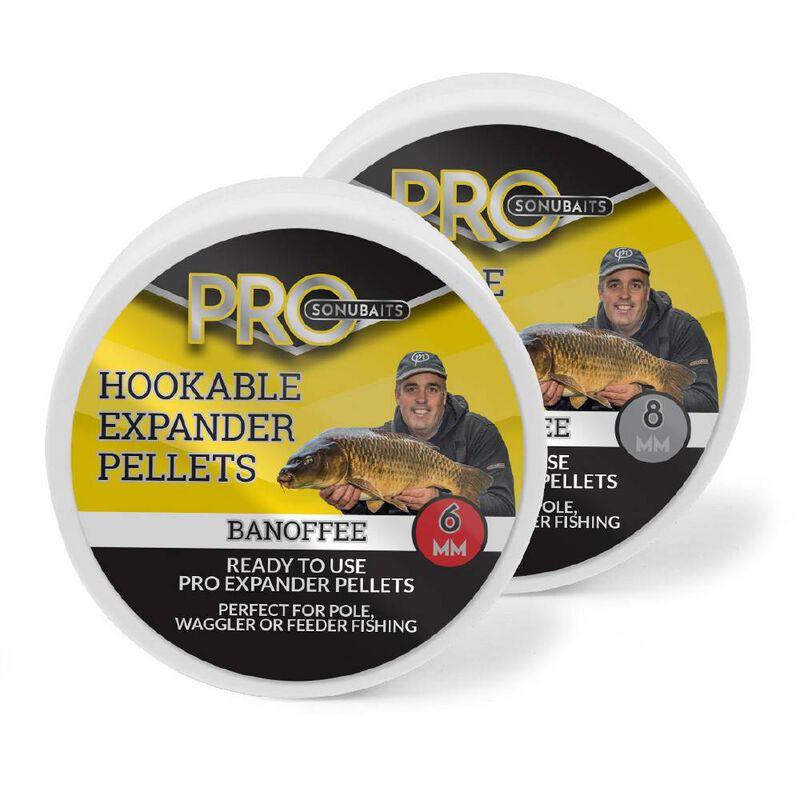 Pellets d'eschage pro expander hookable banoffee - Eschage | Pacific Pêche