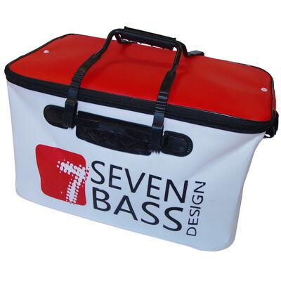 Bakkan soft souple blanc et rouge 45l seven bass navigation - Sacs | Pacific Pêche