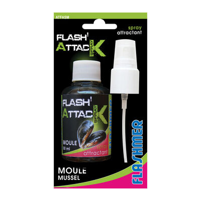 Attractant flashmer flash attack spray moule - Attractants | Pacific Pêche