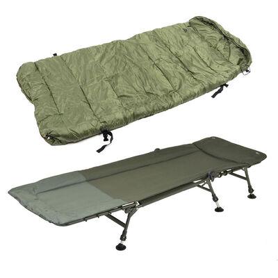 Pack confort team carpfishing process bedchair + duvet - Packs | Pacific Pêche