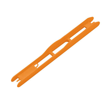 Plioirs pour lignes montées coup rive orange 19x1.6cm (x5) - Plioirs | Pacific Pêche